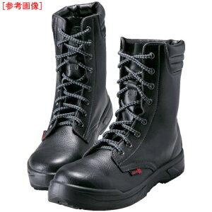 トラスコ中山 ノサックス 耐滑ウレタン2層底 静電作業靴 長編上靴 24.0CM KC007724.0