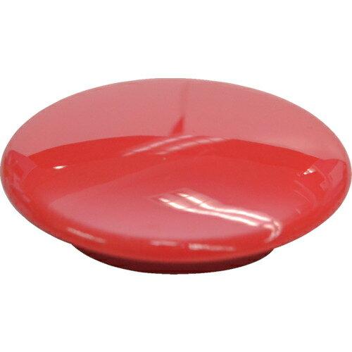 トラスコ中山 マグエックス カラーボタン 30パイ 赤 12個入り MFCB3012PR