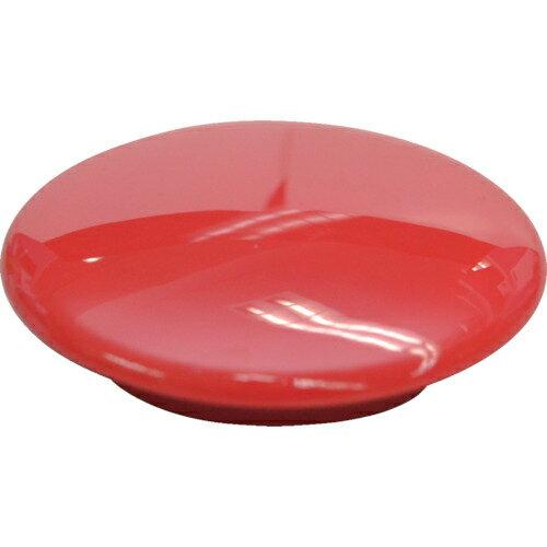 トラスコ中山 マグエックス カラーボタン30Φ5P-赤 MFCB305PR