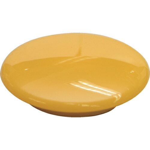 トラスコ中山 マグエックス カラーボタン 40パイ 黄 12個入り MFCB4012PY