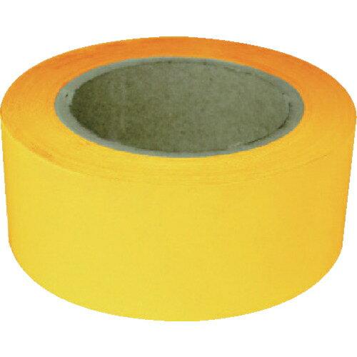 トラスコ中山 新富士 業務用超強力ラインテープ 黄(幅50MM×長さ20M) RM705