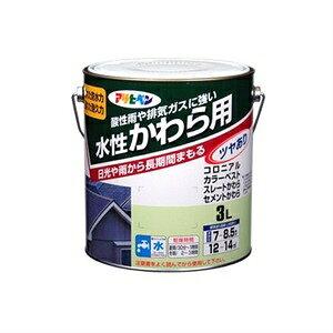 その他 水性かわら用 銀黒 3L ds-1854058