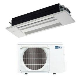 三菱電機 シングルエアコン1方向天井カセット形 GXシリーズ(ホワイトパネル付)(主に12畳) MLZ-GX3617AS-W【納期目安:1週間】