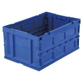 その他 アイリスオーヤマ ハード折畳みコンテナ 75L ブルー HDOC-75Lブルー ds-2045445
