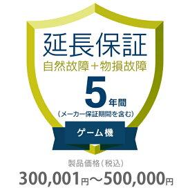 その他 5年間延長保証 物損付き ゲーム機 300001〜500000円 K5-BG-553325