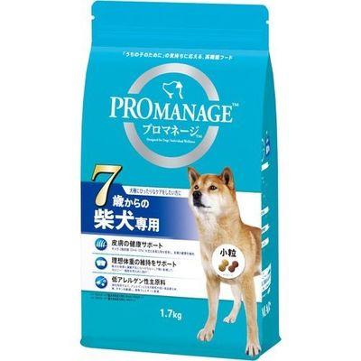 マースジャパンリミテッド プロマネージ 7歳からの柴犬専用 1.7kg 4902397848547【納期目安:2週間】