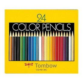 トンボ鉛筆 トンボ鉛筆 紙箱入色鉛筆NA 24色セット CQ-NA24C 1セット 4901991016338【納期目安:2週間】