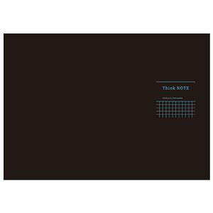 その他 (まとめ) 高橋政史xNakabayashi ロジカルシンクノート A3・ヨコ/5mm方眼ブラック・ブルー罫/40枚 RP-A301-DB【×10セット】 ds-2075365