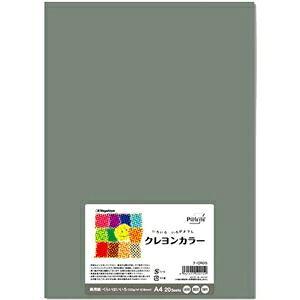 その他 (まとめ) 長門屋商店 いろいろ色画用紙クレヨンカラー A4 くらいはいいろ ナ-CR015 1パック(20枚) 【×10セット】 ds-2116791