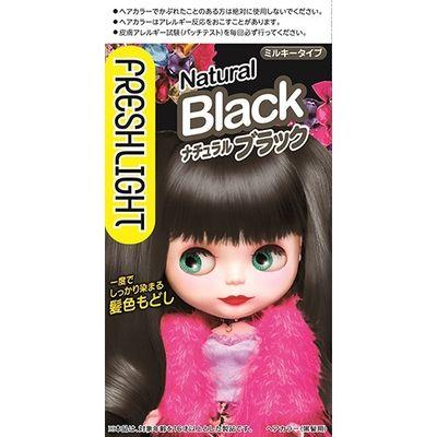 ヘンケルジャパン フレッシュライト ミルキー髪色もどし ナチュラルブラック 1セット 4987234322671【納期目安:2週間】