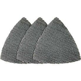ブラック&デッカー #240メッシュサンドペーパー(3枚入り/95mmx95mmデルタ) X39192-XJ 4536178702805