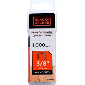 ブラック&デッカー ステープル(10mm)/1,000本入り BDTRA706T-JP 4536178702850