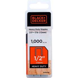 ブラック&デッカー ステープル(12mm)/1,000本入り BDTRA708T-JP 4536178702867