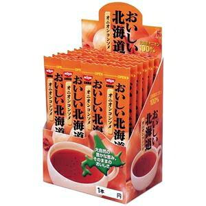 その他 (まとめ)日清食品 おいしい北海道 オニオンコンソメ 24本1箱【×5セット】 ds-2171757