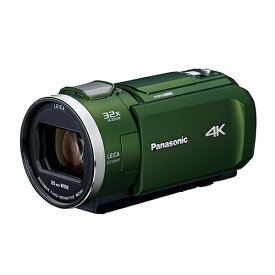 パナソニック デジタル4Kビデオカメラ フォレストカーキ HC-VZX2M-G【納期目安:2週間】