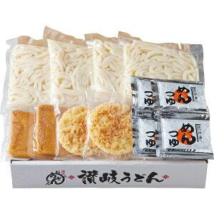 その他 せい麺やの讃岐うどんきつね&天ぷら(4食セット) 4548878025412【納期目安:1週間】