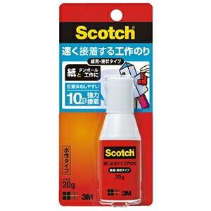 その他 (まとめ)スリーエム ジャパン スコッチ 速く接着する工作のり ACG-20【×50セット】 ds-2180770