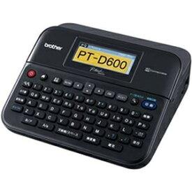 その他 ブラザー工業 ラベルライター ピータッチ ブラック 1台 PT-D600 ds-2184497
