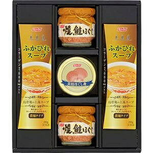 その他 (まとめ)缶詰・びん詰・ふかひれスープセット B5092070【×2セット】 ds-2190839