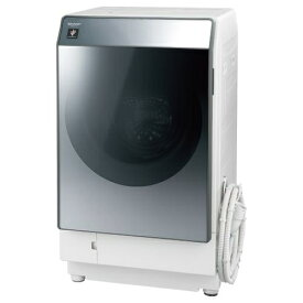 シャープ 乾燥フィルター自動お掃除 ドラム式洗濯乾燥機 シルバー系・左開き ES-W112-SL【納期目安:1ヶ月】