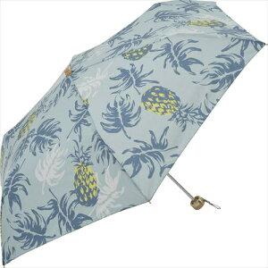 Nifty Colors 折りたたみ傘 TCパイナップルミニ ブルー GG-01128