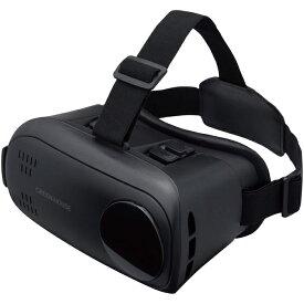 グリーンハウス VR ヘッドセット ブラック GH-VRHC-BK