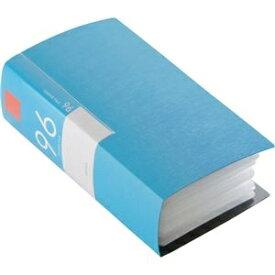その他 (まとめ) バッファローCD&DVDファイルケース ブックタイプ 96枚収納 ブルー BSCD01F96BL 1個 【×10セット】 ds-2224408