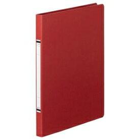 その他 (まとめ) TANOSEE クランプファイル(紙表紙) A4タテ 100枚収容 背幅18mm 赤 1セット(10冊) 【×10セット】 ds-2232285