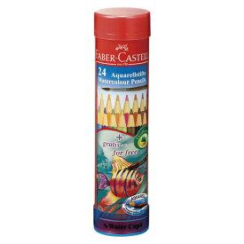 その他 ファーバーカステル水彩色鉛筆 丸缶 TFC-115924 (1セット) 4974052748202