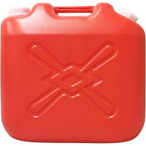 北陸土井工業 灯油缶 赤 20L ポリタンク 4個セット【沖縄・離島配達不可】 4977767221244-4
