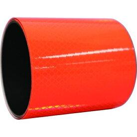 トラスコ中山 日東エルマテ プリズム反射マグネットシート 100mm×1m 蛍光オレンジ tr-1602757