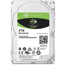 "Seagate 内蔵HDD 5TB 2.5"" S-ATA ST5000LM000"