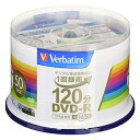 Verbatim ブランクメディア DVD-R 録画用 50枚スピン VHR12JP50V4