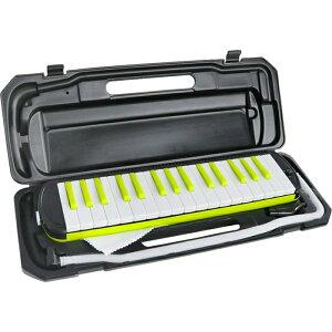 KC 32鍵盤ハーモニカ メロディー ピアノ 鍵ハモ 小学校 幼稚園 音楽 P3001-32K/NEONLIME (ネオンライム) 4534853044530