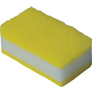 その他 (まとめ)TRUSCO 抗菌ソフトスポンジ イエロー KSS-Y-10 1袋(10個)【×5セット】 ds-2297830