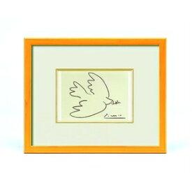 その他 ピカソ 絵画額 「平和」 イエロー ds-2313070