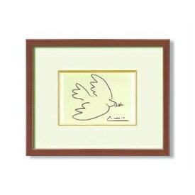 その他 ピカソ 絵画額 「平和」 ブラウン ds-2313071