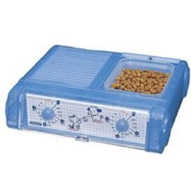 YAMASA ペット自動給餌器(わんにゃんぐるめ) BLクリアブルー CD-400-BL