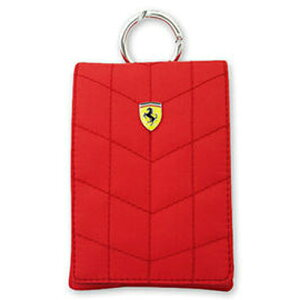 Ferrari フェラーリ ポーチ [Ferrari POUCH VERTICAL]FEPFV1 Red FEPFV1-RE