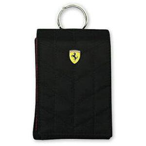 Ferrari フェラーリ ポーチ [Ferrari POUCH VERTICAL]FEPFV1 Black FEPFV1-BL
