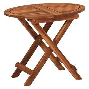 その他 折りたたみ式 サイドテーブル/ミニテーブル 【幅55×奥行40×高さ46cm】 木製 オイル仕上げ 〔リビング〕【代引不可】 ds-2333583