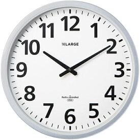 キングジム 電波掛時計 ザラージ 大型盤面 GDKB-001