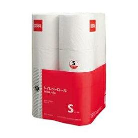 その他 (まとめ) オフィス・デポ オリジナル トイレットペーパー シングル 60m 1パック(12ロール) 【×6セット】 ds-2343644