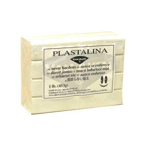 その他 MODELING CLAY(モデリングクレイ) PLASTALINA(プラスタリーナ) 粘土 ホワイト 1Pound 3個セット CMLF-1549525【納期目安:1週間】