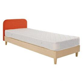 その他 HOMEDAY ベッド(マットなし) OR(オレンジ) BH-574-SS CMLF-1600634
