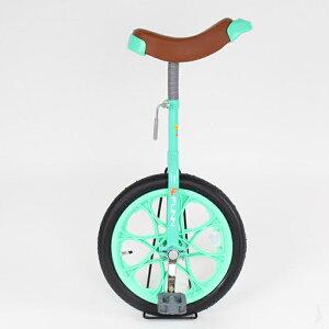 21Technology 一輪車 16インチ 子供用プレゼント スタンド付き (一輪車IR16-グリーン) 4562320218733【納期目安:1週間】