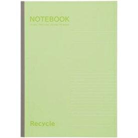 その他 (まとめ)TANOSEE ノートブック再生紙 A4 A罫7mm 40枚 グリーン 1冊 【×50セット】 ds-2366781