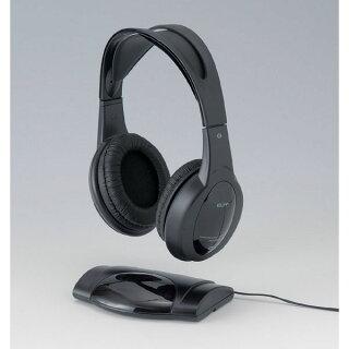 ワイヤレス・ステレオヘッドホンRD-IR200/赤外線で約10mまで無線で使えるヘッドフォン