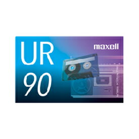 日立マクセル カセットテープ 90分 UR-90N