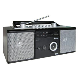 エルパ 2スピーカーラジオカセットレコーダー AM/FMラジカセ ADK-RCR200MW /ELPA 朝日電器 アウトレット